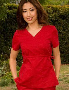 Tafford Uniforms - Koi Katelyn Scrub Top