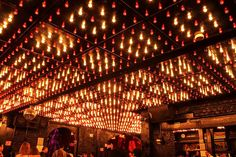 Hot restaurants and bars spots janis lincoln mexico novecento Porfirios hookah kasbah anatol Lounge Lighting, Club Lighting, Hall Lighting, Nightclub Design, Night Bar, Night Club Outfits, Roof Light, Restaurant Interior Design, Bar Lounge