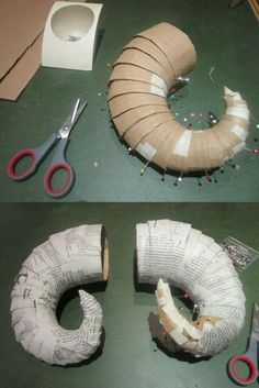 Building instructions for horns Building instructio. - - Building instructions for horns Building instructions for horns Diy Costumes, Cosplay Costumes, Halloween Costumes, Halloween Prop, Dance Costumes, Cosplay Tutorial, Cosplay Diy, Cosplay Horns, Diy And Crafts