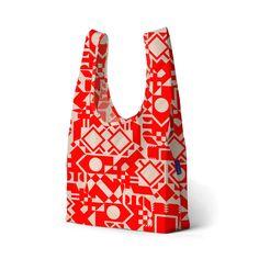 Pretty grocery bag :}