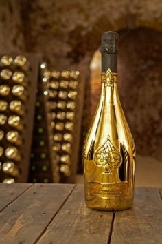 Armand De Brignac Brut Gold (ace Of Spades) Non-vintage Wine , Find Complete Details about Armand De Brignac Brut Gold (ace Of Spades) Non-vintage Wine,Champagne from Wine Supplier or Manufacturer-Continental Wine & Food Ltd Champagne Moet, Champagne Bottles, Champagne Cocktail, Armand De Brignac, Gold Bottles, Wine Bottles, I Love Gold, Gold Mine, Gold Everything