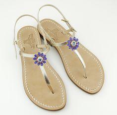 Dea Sandals Capri .sandali capresi gioiello fatti a mano simply elegant...... www.deasandals.com