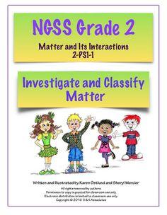 NGSS 2nd Grade-PS-1-4: Properties of Matter | Properties ...