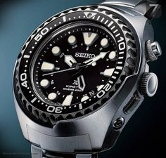 SEIKO – Prospex SUN019 Kinetic GMT Diver's