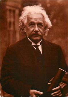 A modern postcard of theoretical physicist Albert Einstein (1879-1955), probably photographed in the 1930s. | eBay