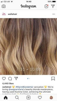Caramel Blonde, Caramel Balayage, Caramel Hair, Blonde Hair Shades, Blonde Color, Hair Color Swatches, Hair Color Formulas, Hair Toner, Warm Blonde