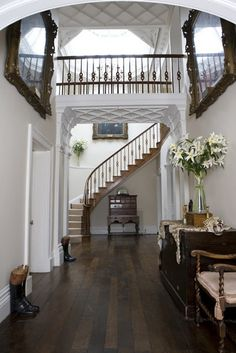Beautiful and grand staircase