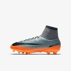 Victory VI Dynamic Fit FG Soccer Cleat (Cool Grey, Metallic Hematite) US Sizes Authentic Nike Gear Guarantee Nylon Text Synthetic Leather Nike Gear, Fit Team, Sports Uniforms, Football Shoes, Sports Jacket, Soccer Cleats, Sports Shoes, Big Kids