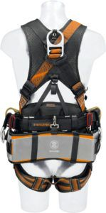 If innovation is what you are looking for then the SKYLOTEC TOWER PRO AL is the climbing harness for you. The TOWER PRO is available in aluminum alloy D-rings for light-weight performance or steel D-rings.
