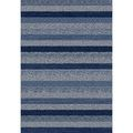 Eternity Striped Blue Rug (5'3 x 7'7) | Overstock.com Shopping - The Best Deals on 5x8 - 6x9 Rugs