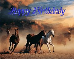 birthday images with horses | Happy Birthday White Horse Acres ** - General Chit-Chat - HorseCity ...