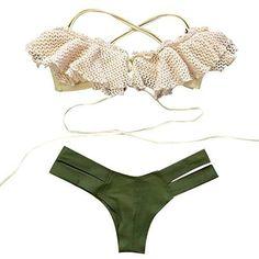 Oferta: 4.09€. Comprar Ofertas de SMARTLADY Conjunto Bikini Push-Up Traje De Baño (S) barato. ¡Mira las ofertas!