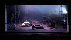 Richard Evans - The Seagull. Act York Theatre Royal. Photo by Kai Fischer. Tv Set Design, Set Design Theatre, Stage Lighting Design, Stage Design, Theatre Stage, Design Research, Stage Set, Scenic Design, Installation Art