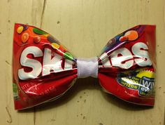 how to make hair bows out of candy wrappers - Google Search