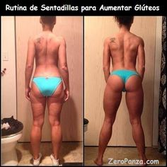 Amazing Before & Afters. And this is why you do squats! Even if you don't have a butt you still need to work it out! I have the opposite, I've always had a big butt, but squats k… Fitness Workouts, Fitness Motivation, Butt Workouts, Fitness Websites, Monday Motivation, Fitness Goals, Body Fitness, Fitness Diet, Health Fitness