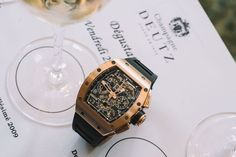Visiting the Vineyards of Deutz Champagne with Richard Mille