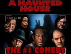 a haunted house.