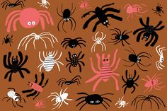 Download Now: 3 Spooky, Scary and Totally Cute Desktop and Smartphone Wallpapers via Brit + Co.