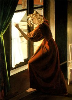 Hand-Painted oil painting reproduction of Balthus Lady Abdy 1935 for sale,museum quality painting, oil on canvas Edward Hopper, Pierre Bonnard, Kandinsky, Chaim Soutine, Tate Gallery, Paris Ville, European Paintings, Art Database, Modern Artists