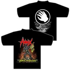 Hirax Thrash and Destroy Shirt