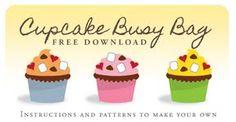 Cupcake Busy Bag Activity
