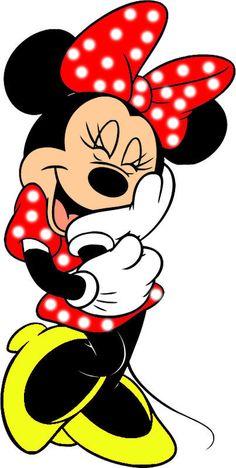 Minnie Mouse, kan gebruikt worden bij alle feestartikelen op maat van Slingerlandwinkel.nl