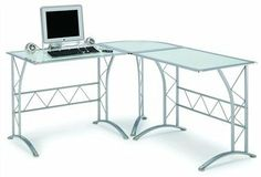 New Spec NF13930 Computer Desk by New Spec. $247.94. Features:   Workstation glass table Metal powder coating  Tempered glass