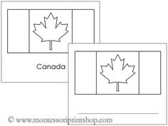 For My Garment Bag Project Dedicate A Section To Embroidering Flags Of Countries I Ve Been To Outline Flags Of Canada 14 Outlines Of Canadian Flags