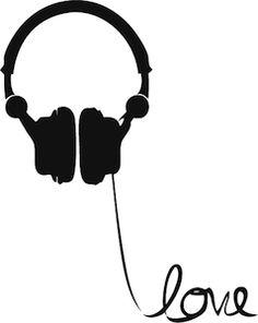 Das wäre doch das richtige als Shirtaufdruck für die Motte.  Headphones Love Wire