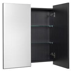 Clearlite Mahia 400mm Mirror | Plumbing World Toilet Suites, Shower Seat, Mirror Cabinets, Cabinet Styles, Shower Enclosure, Soap Dispenser, Storage Solutions, Plumbing, Bathroom Medicine Cabinet