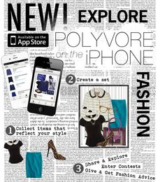 """Polyvore on iPhone"" by crystal85 ❤ liked on Polyvore"