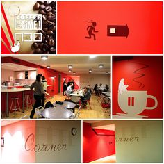 Coffee Time | L'ATELIER30 Mural Painting, Paintings, Coffee Time, Walls, Spaces, Architecture, Color, Art, Atelier