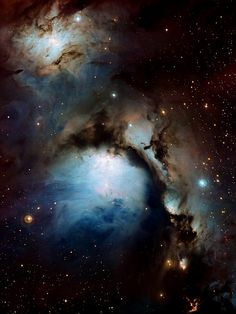 ESO image of the beautiful blue nebula M78. M78 Wallpaper (by sjrankin)