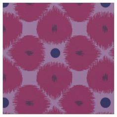 Petal Ikat Fabric You will love this petal ikat pattern in colors of purple and pink. This fabric by the yard is perfect for home projects such as pillows, curtains, table cloths, etc.... Designed by Pattern Pod with over 30 years experience in textile design! Make something cool and share it with us at hello@patternpod.com!...