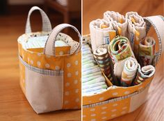 Divided Basket Pattern by Noodlehead - how cute is this?????