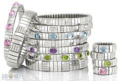 Und noch einmal Nomination. Schöne Armbänder und Ringe bringen Farbe in die kommende dunkle Jahreszeit.