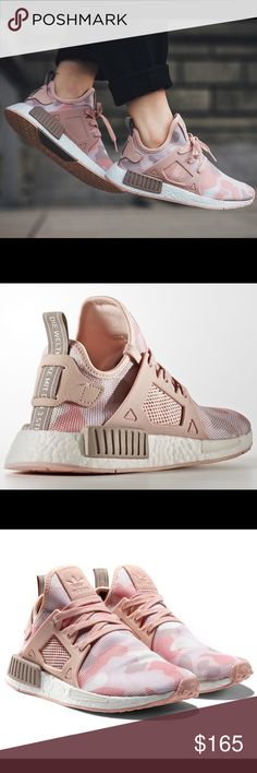 Adidas NMD women's duck camo pink xr1 9.5 Adidas NMD women's duck camo pink xr1. Worn once inside in like new conditions without any flaws. Selling because I am a true 9.5 and these run big, so they fit more like a 10. Box included 100% authentic purchased from adidas website. More photos to come tomorrow. OFFERS WAYS WELCOME! ✨ Adidas Shoes Athletic Shoes