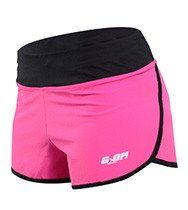 Women's Ultra Running Shorts Pink/Black by Men's and women's sizes available. Check out our full catalog for tons of t-shirts and gear. Crossfit Shorts, Crossfit Clothes, Running Shorts, Discount Womens Clothing, Womens Clothing Stores, Clothes For Women, Womens Workout Outfits, Gym Shorts Womens, Fitness Fashion