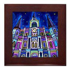 New Orleans Saints Ceramic Tile