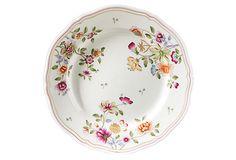 Granduca Floral Dinner Plate on OneKingsLane.com