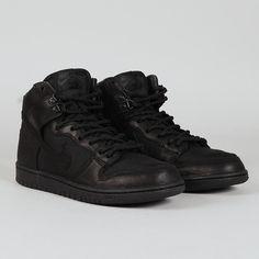 competitive price 7c4a2 a371a Nike SB Zoom Dunk HI Pro Bota. Nike Sb, All Black Sneakers