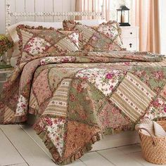 Large square rag quilt