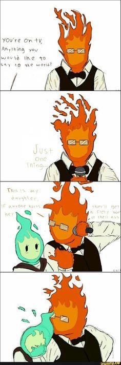 grillby, undertale, fukufire