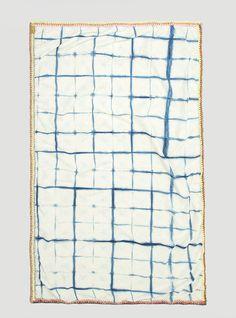 Couverture and The Garbstore - Womens - Ikou Tschuss - Indigo Cotton Foulard