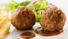 Albondigas de carne de Soja. la receta se ve excelente