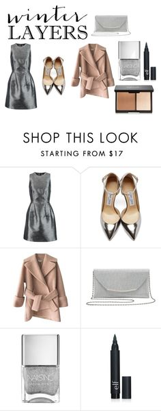"""Untitled #720"" by polyvore966 ❤ liked on Polyvore featuring Iris & Ink, Jimmy Choo, Carven, M&Co, women's clothing, women's fashion, women, female, woman and misses"
