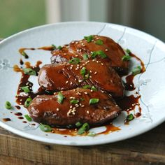 Japanese Yakitori-Style Pan-Roasted Duck Breast Recipe  - Andrew Zimmern | Food & Wine