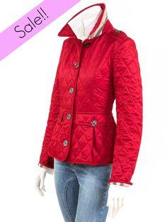 Glamour for ladies. Shop now! http://www.giancarlino.it/shop/abbigliamento-donna/husky-burberry-baschina/
