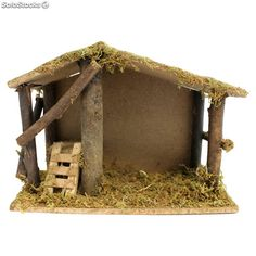 Decor Crafts, Home Crafts, Christmas Crafts, Christmas Decorations, Christmas Time, Winter Christmas, Kids Party Snacks, Nativity Stable, Diy Crib