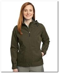 As Low As $60.74 > Port Authority L308 Ladies Reliant Hooded Jacket - Available Colors:3, Size Range:XS - 4XL